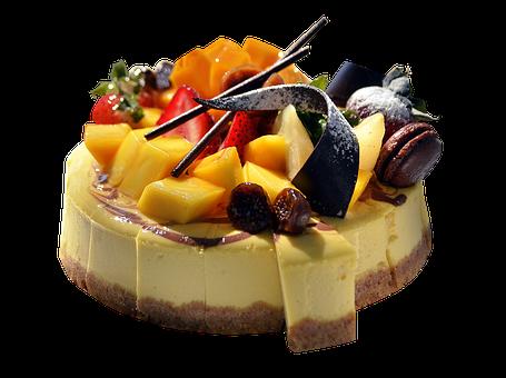 Cake, Dessert, Pastry, Food, Sweet, Fruits, Chocolate
