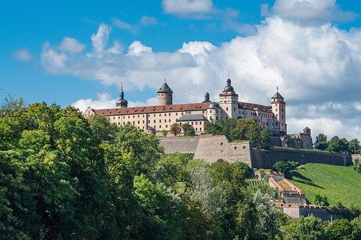 Marienberg Fortress, Castle, Landmark, Fortress, Palace
