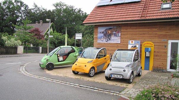 Electric Car, Vehicles, Small Car, Auto, Automotive