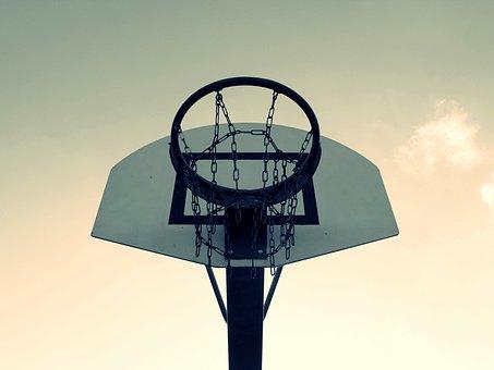 Basketball, Basketball Hoop, Basket, Sport, Play