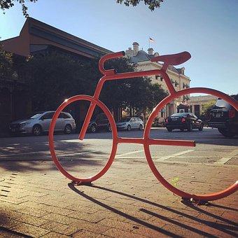 Pensacola, Bike, Peaceful, Beach, Coast, Exercise