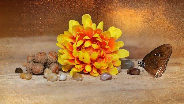 Flower, Blossom, Bloom, Art Flower, Fabric Flower