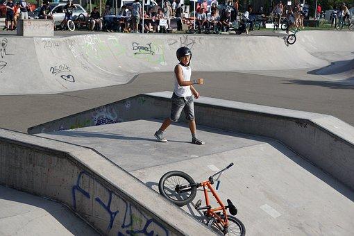 Bike, Drive, Sport, Bmx, Boy, Extremely