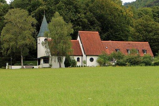 Church, Church Of Peace, Aschau, Chiemgau, Architecture