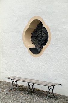 Window, Bank, Church Window, Rest, Harmony, Peaceful
