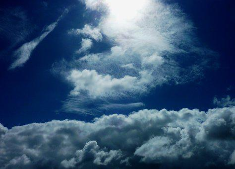 Weather, Clouds, Sky, Blue, Cumulus, White, Atmosphere