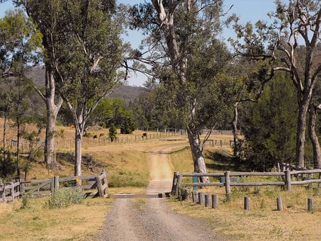 Australia, Queensland, Country Road, Track