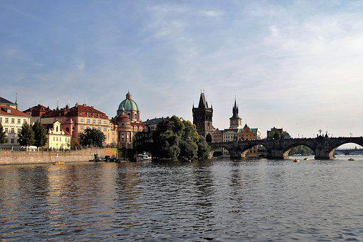 Prague, Capital, Czech Republic, View, Travel, Panorama