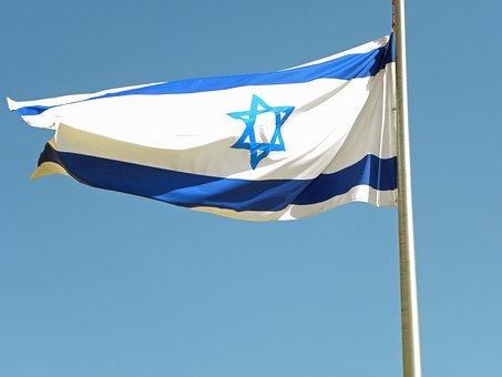 Israel, Flag, Blue, White, Star, David, National