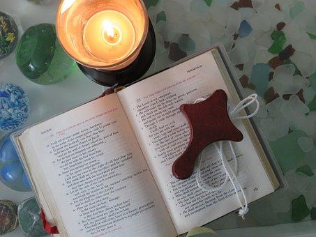 Cross, Light, Prayer Book, Religion, Symbol, Faith