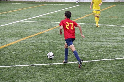 Football, Boot, Domain, Sport, Ball, Ball Control