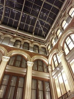 Architecture, Interior, Style, Ceiling, Structure