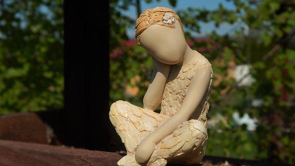 Arora, Landscape, Figurine, Statuette, Without A Face