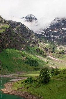 Oberblegisee, Bergsee, Switzerland, Canton Of Glarus