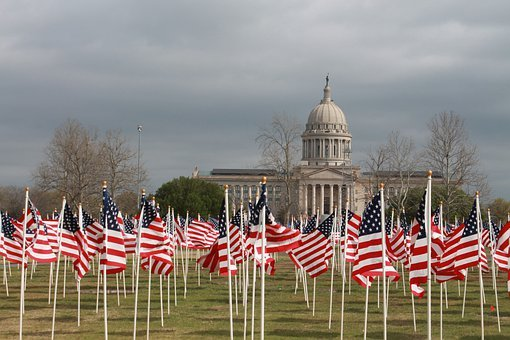 Flags For Children, Abuse, Oklahoma City, Oklahoma