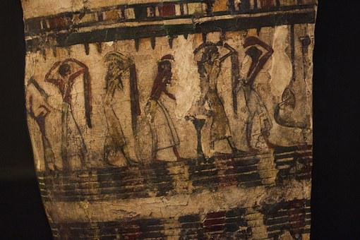 Museum, Ancient, Egyptian, Relief, Painting