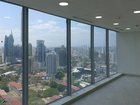 Window, Panama, View, Office, Panoramic, Construction