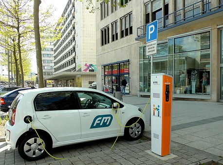 Electric Car, Charging Station, Recharge