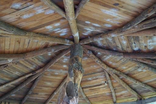 Roof, Ceiling, Wood, Architecture, View Of Height