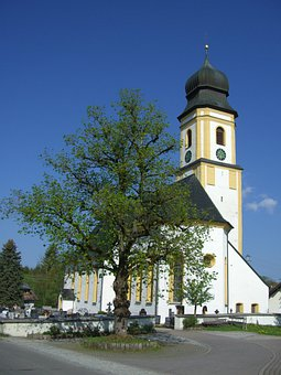 Ruins, Church, Peace Linde, Allgäu