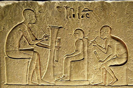 Hieroglyphs, Writing, Egyptian, Scribe, Ancient, Museum