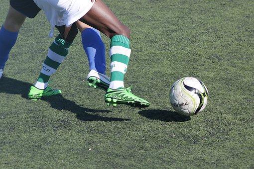 Football, Ball Control, Sport, Player, Departure, Shot