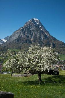 Glarus, Glärnisch, Mountains, Switzerland