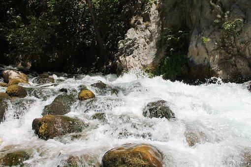 Saklıkent, Turkey, River, Stones, Canyon, Water, Nature