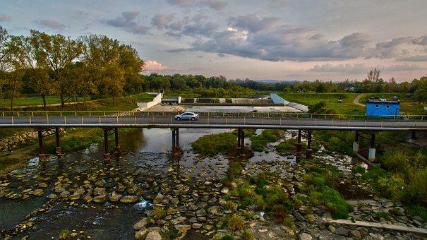 Water, River, Bridge, Architecture, Footbridge, Way