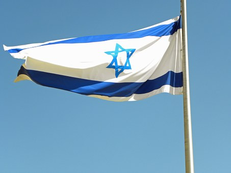 Israel, Flag, Blue, White, Star, David, National