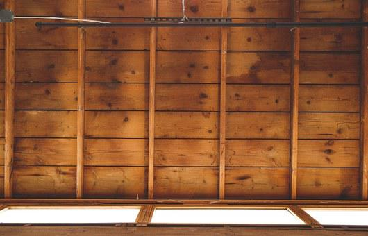 Ceiling, Roof, Wooden, Building, Construction, House