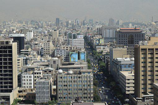 Skyline, Skyscraper, Buildings, Architecture, Iran