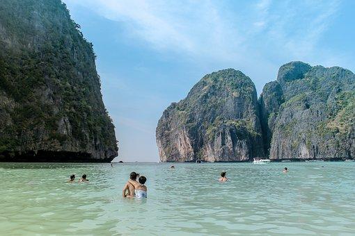 Beach, Ocean, Sea, Lagoon, Vacation, Tourism, Summer