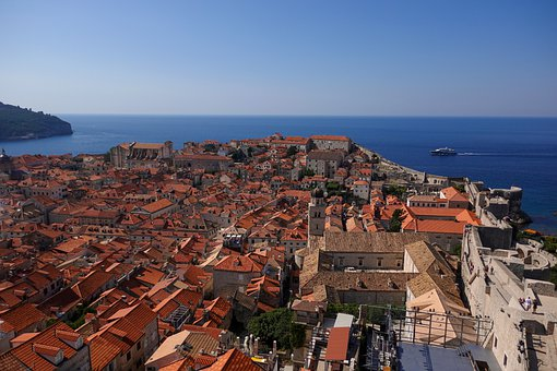 Houses, Roofs, Coast, Architecture, Tourism, Holiday