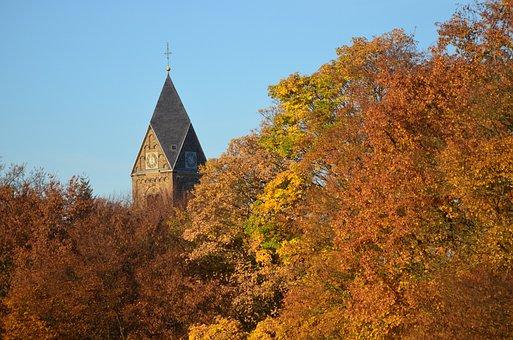 Church, Autumn, Nature, Outdoors, Travel, Tourism