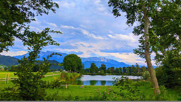 Lake, Nature, Outdoors, Travel, Exploration, Trees, Sky