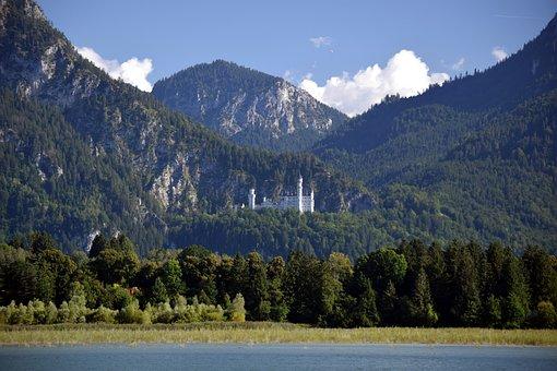 Lake, Nature, Outdoors, Travel, Exploration, Castle