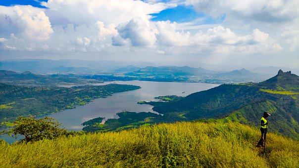 Kalavantin Durg, Mountains, Hiking, Trek, Lake