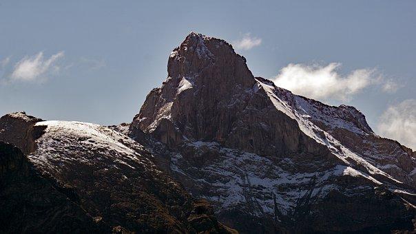 Mountain, Landscape, Austria, Summit, Nature, Alps