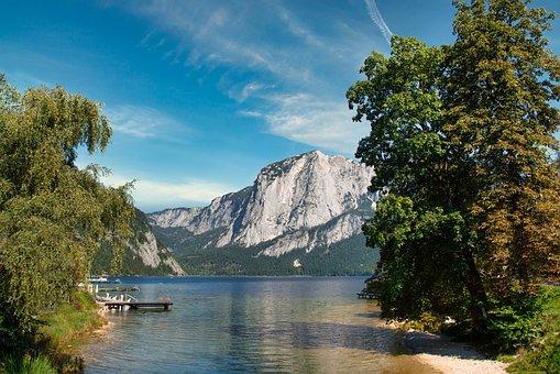 Lake, Nature, Outdoors, Travel, Exploration, Mountains