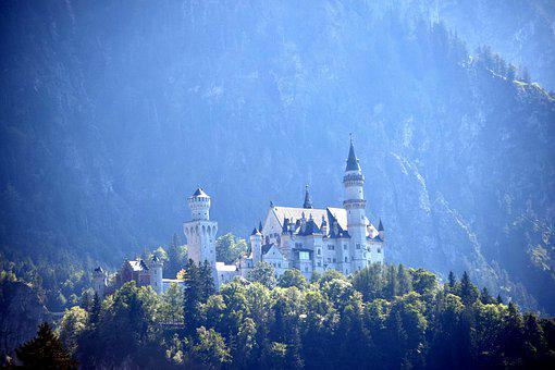 Castle, Nature, Travel, Tourism, Historical, Mountains