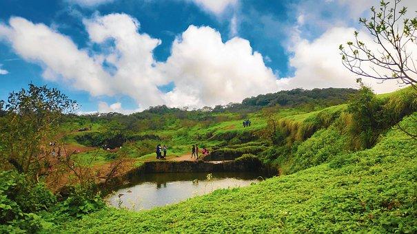 Visapur Killa, Mountains, Hiking, Kalavantin Durg, Trek