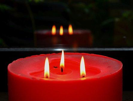 Candle, Flame, Light, Candlelight, Burning