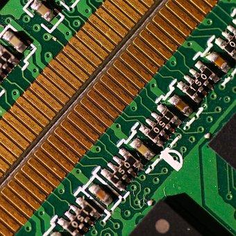 Circuit Board, Motherboard, Technology, Hardware, Macro