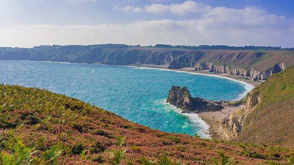 Coast, Coastal Landscape, Brittany, Cap Fréhel, Lake
