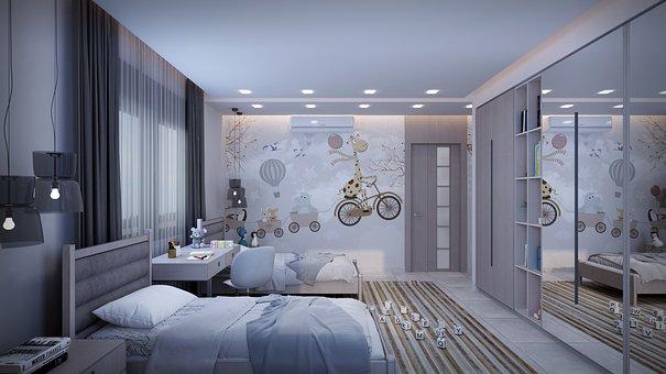 Apartment, Interior Design, Bedroom, Modern
