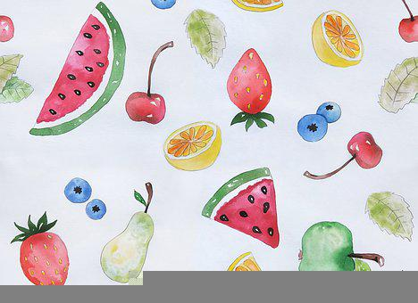 Background, Pattern, Fruit, Texture, Design, Wallpaper