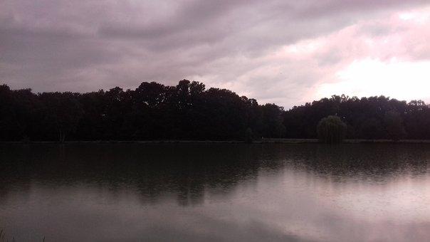 Pond, Nature, The Water, Horizon, Dusk, Dawn