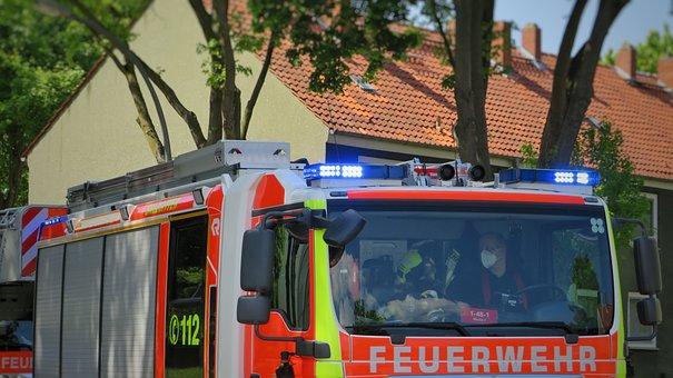 Fire Fighting, Firetruck, Fire Brigade