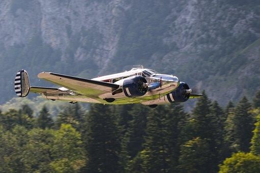 Beechcraft Model 18, Light Aircraft, Airplane